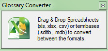 Glossary Converter for Excel and Multiterm