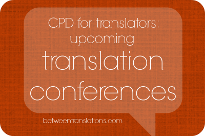 Translation Conferences 2014-2015