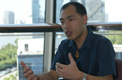 President of the International Federation of Translators, Henry Liu