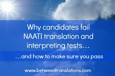 NAATI translation and interpreting tests