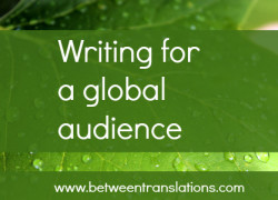Translating manuals into English – tips on writing for a global audience