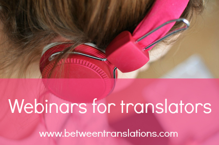 Webinars for translators