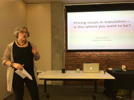 Chris Durban on translation pricing